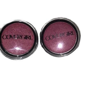 Lot of 2 Covergirl Flamed Out Eyeshadow Dark Pink